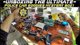 Unboxing The Ultimate Police Car Goodies Mystery Box!