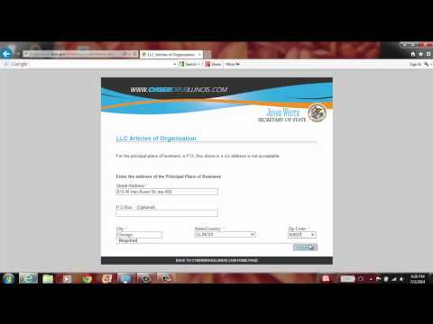 Register Your LLC (Limited Liability Company) Online
