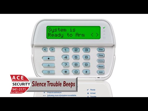 Alarm Troubleshooting - Silencing Trouble Beeps on DSC Power Series