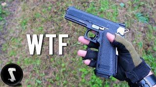 You Have Never Seen an Airsoft Gun Like This (1500 RPM pistol)