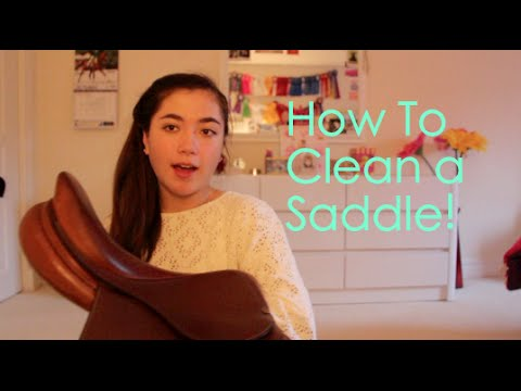 How To Clean An English Saddle!