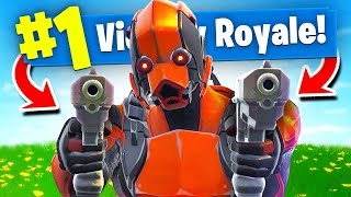 Using *ONLY* DUAL PISTOLS To WIN Fortnite Battle Royale! (Challenge)