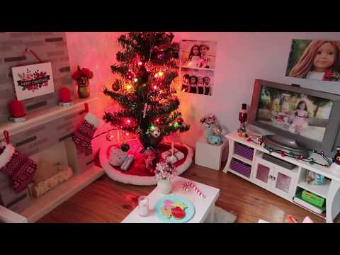 My Doll House Decorated for Christmas!! {2017}