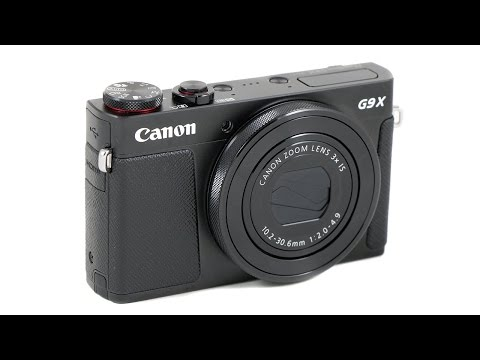 Canon PowerShot G9 X Handling Review & Samples