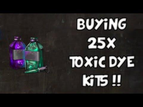 BUYING 25x TOXIC DYE KITS | Guild Wars 2 Gemstore Shopping #001