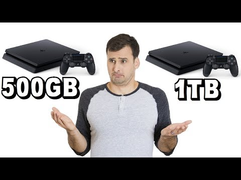 PS4 Slim 500GB vs PS4 Slim 1TB - Which Is The Better Value?