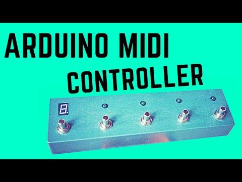 DIY Arduino Midi Controller for Line6 M5