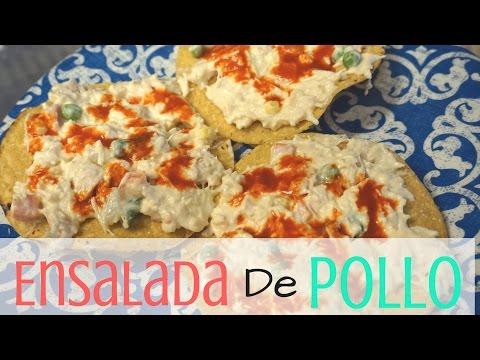 Ensalada De Pollo - Mexican Chicken Salad