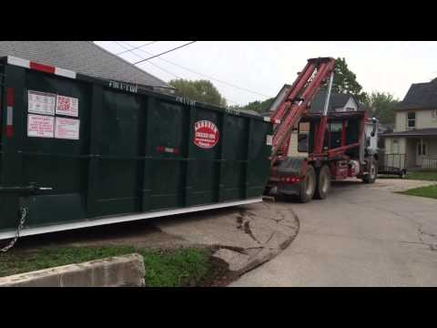 (563) 332-2555 How To Rent Dumpster Quad Cities