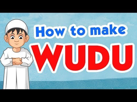 How to make Wudu (Ablution) | Learning with Zaky