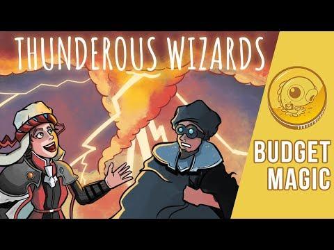 Budget Magic: $98 (57 tix) Thunderous Wizards (Modern)