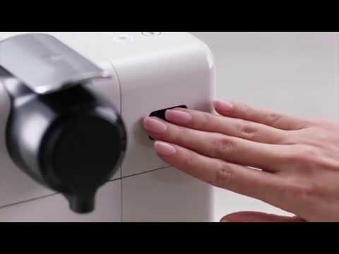 Nespresso Lattissima Touch- Cup Size Programming