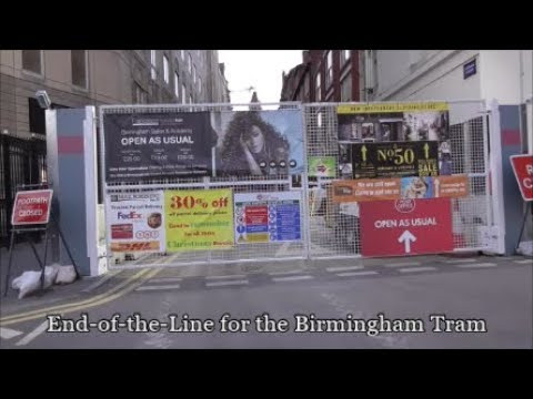 End-of-the-Line for the Birmingham Tram