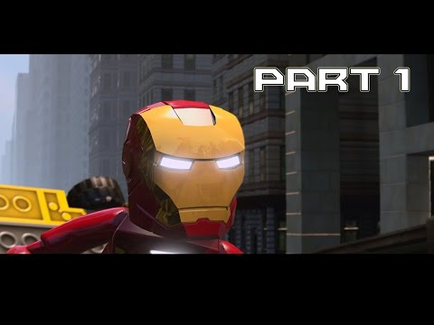 LEGO: Marvel Super Heroes - Part 1 - Sand Central Station (PS4 HD GAMEPLAY)