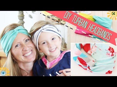 DIY Easy Turban Headband