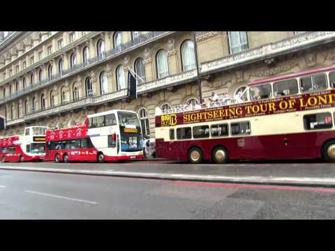 Victoria Coach Station and Buckingham Palace Road in London 2