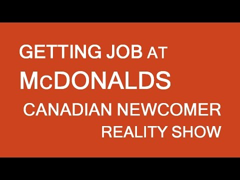First job at McDonalds....nailed!