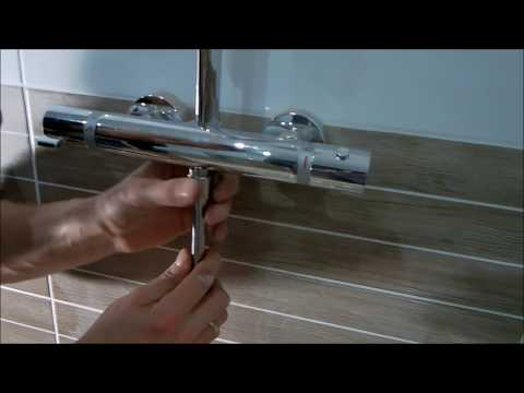 Shower Mixer Installation, Thermostatic