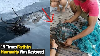 15 Moments People Saved The Day! Faith In Humanity Restored 2021