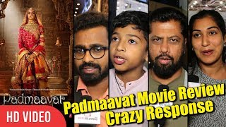 Padmaavat Movie First Review | Latest Review Crazy Response | Deepika, Shahid, Ranveer