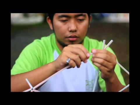 Tutorial : straw icosahedron