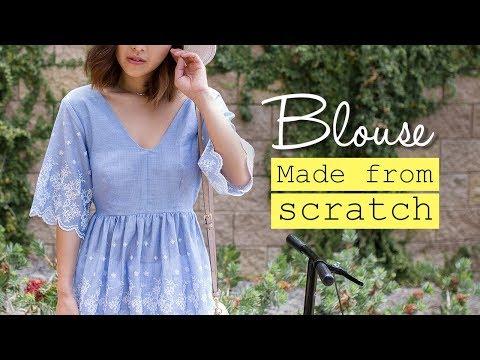 DIY Summer Blouse | Made From Scratch