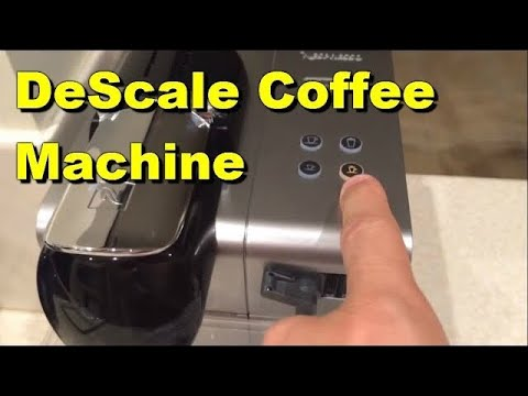 How To De Scale Delonghi Lattissima Plus Coffee machine Part 1