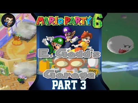 Mario Party 6 | E. Gadd's Garage - Part 3/7