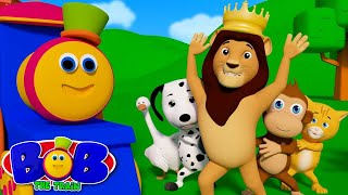 If You Are Happy And You Know It   Learn Nursery Rhymes by Bob The Train