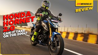 Honda Hornet 2.0 Road Test Review | Performance, Features, Mileage & More | Can It Take On The 200s?