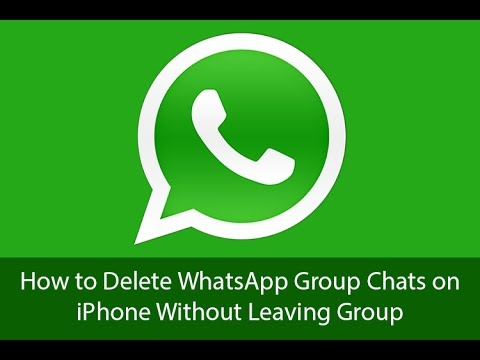 How to Delete WhatsApp Group Messages on iPhone Without Leaving Group