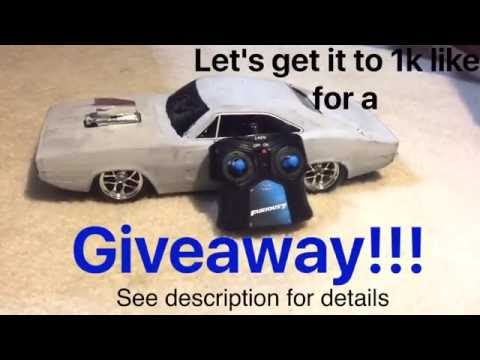 D.I.Y Rc drift car!!! Giveaway!!!