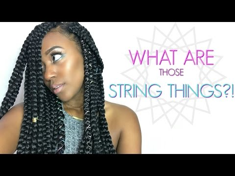 Accessorize Your Braids Like An IG Model | THOSE STRING THINGS?!