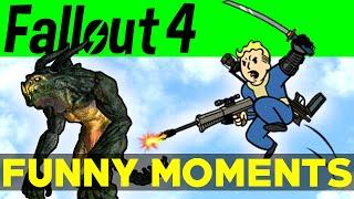 Fallout 4 Funny Moments - EP.4 (FO4 Funny Moments, Mods, Fails, Kills, Fallout 4 Funtage)
