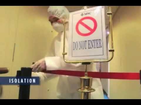 Cruise Ship Norovirus Disinfection Video