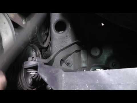 Volkswagen Jetta VR6, Serpentine Belt and Tensioner Replacement