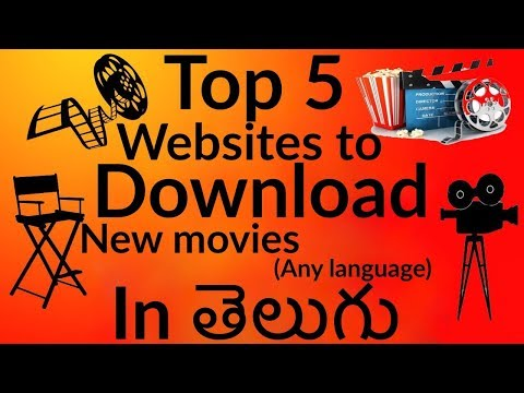Top 5 BEST Websites To download NEW (Any language) Movies&Video songs || In how to do??? in Telugu