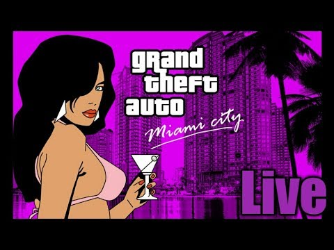 GTA Vice City : (Livestream) I love the 80s!!!