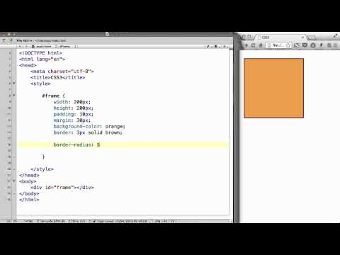 CSS3 - 04. Making a picture frame