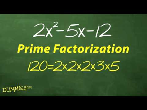 How to Use UnFOIL to Factor Quadratic Equations For Dummies