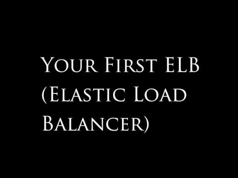 Amazon AWS Tutorial #3: Attaching an Elastic Load Balancer to your Auto-Scaling Group