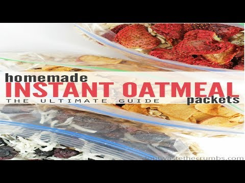 How to Make Your Own Instant Oatmeal Packets  Quick and Easy ft Mind Over Munch