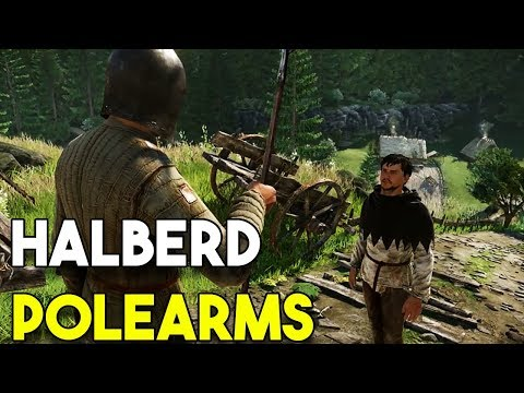 How To Find HALBERD POLEARMS! - Kingdom Come Deliverance TUTORIAL