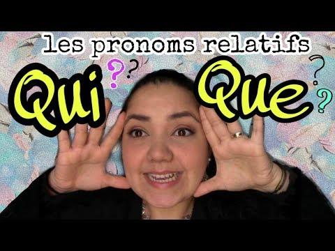 Xxx Mp4 Cómo Usar QUI O QUE En Francés Le Pronom Relatif 3gp Sex