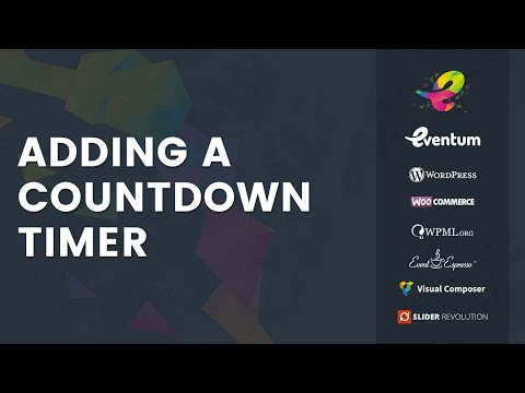 Eventum Tutorial: Adding A Countdown Timer