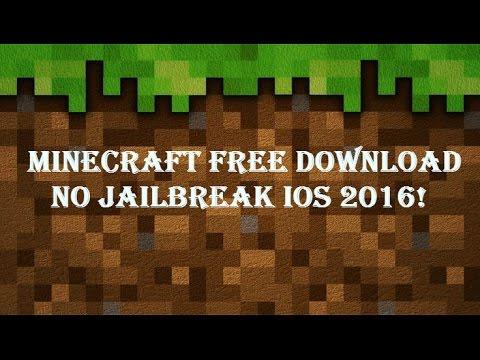 MINECRAFT PE Free Download! iOS 8-10 No Jailbreak 2016
