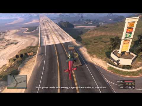 San Andreas Flight School #5: Moving Landing