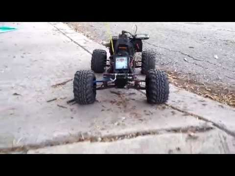 23CC WEEDEATER RC THE WEED MAXX SPEED RUN #1
