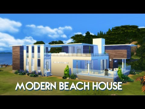 Sims 4 | House Building | Modern Beach House