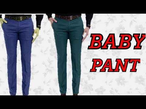 How to cut and stitch Baby pant